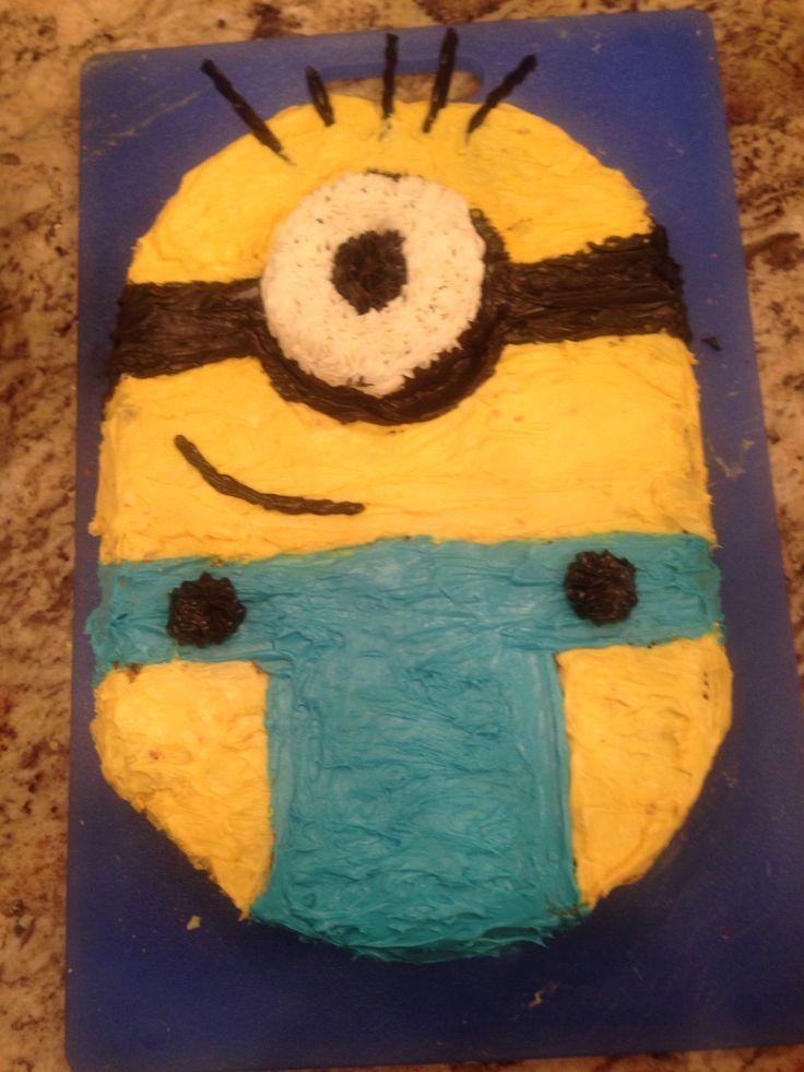 Kris and Peyton's awesome creation!!!! Minion time!!!