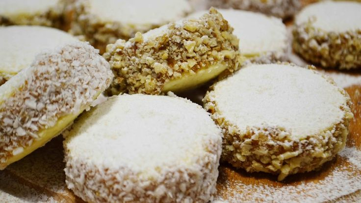 ПЕЧЕНЬЕ (Пирожные) АЛЬФАХОРЕС |  Нереально вкусное! | Alfajores |  Cooki...