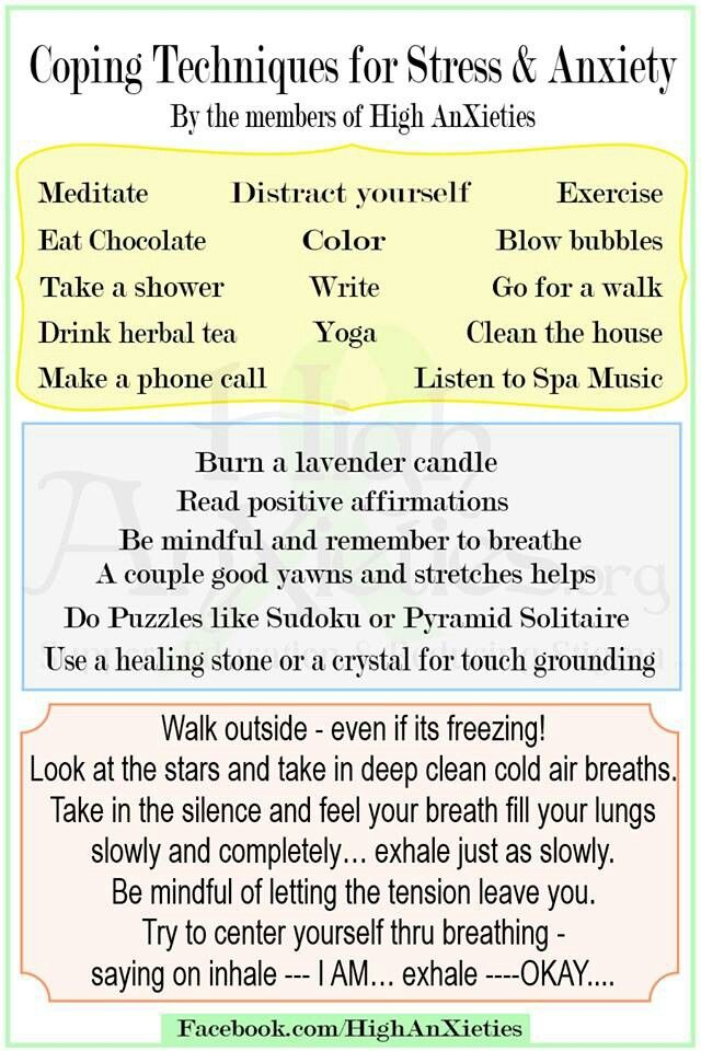 Stress and Anxiety Relief