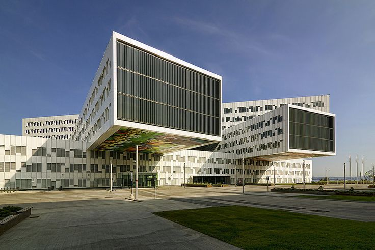 Statoil Regional & International Offices designed by A-lab. Fornebu, Oslo.