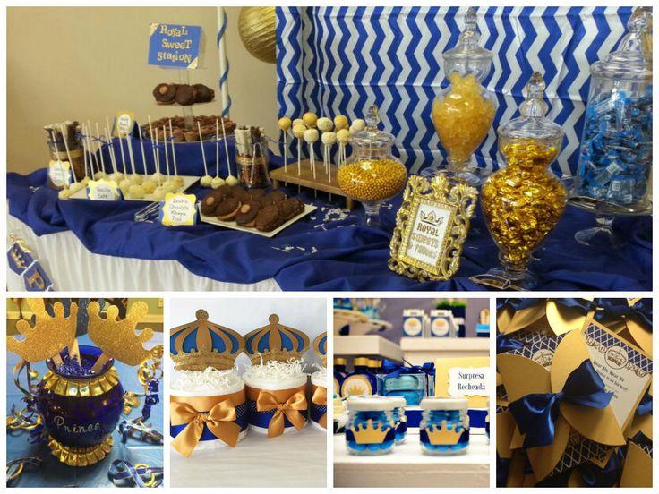 Royal Theme Party!...muy de moda en estos momentos para baby showers, Bautizos y primeros ...