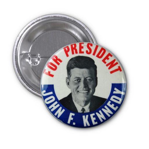 John F. Kennedy (JFK) For President Campaign