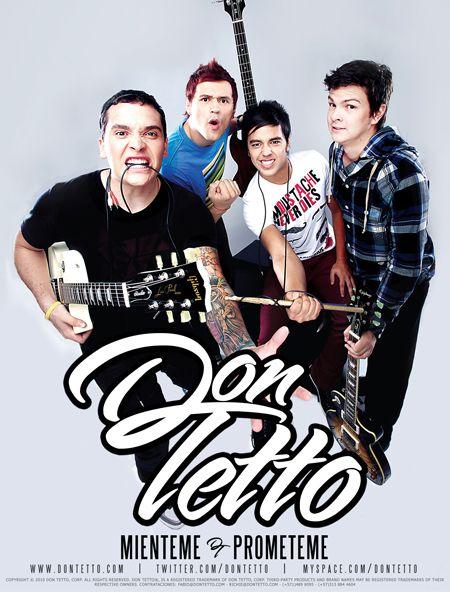 Poster Don Tetto Bogota-Colombia