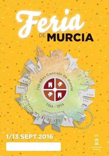 Mañana comienzas las fiestas de la Feria de Murcia. Conoce el programa de actividades y eventos...