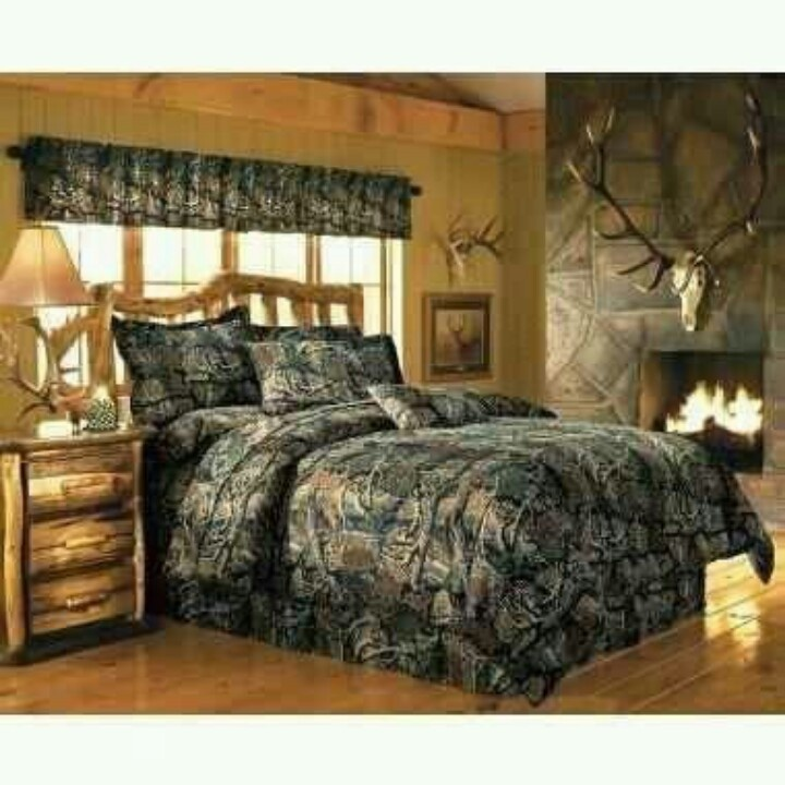 11 best images about rustic bedroom camo on pinterest for Camo bedroom ideas for girls