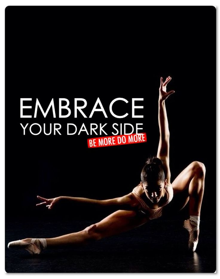 EMBRACE YOUR DARK SIDE