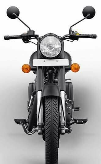 Royal Enfield Modified Royal Enfiled Classic Stealth Black 500