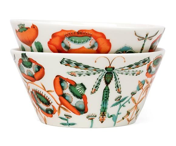 Klaus Haapaniemi nature study inspired bowls