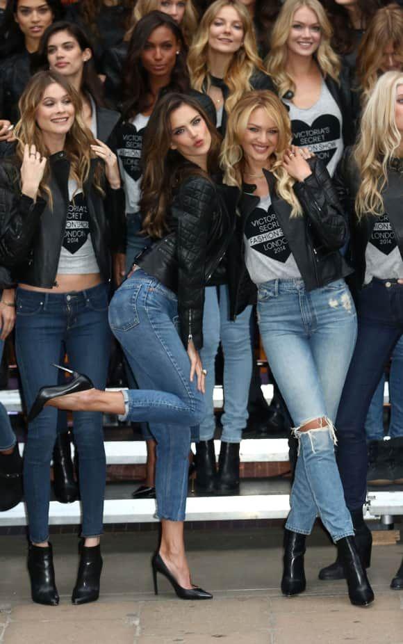 """Heiß, bis eh weh tut: Die schönsten """"Victoria's-Secret-Models"""