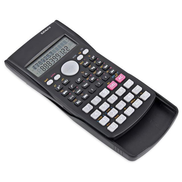 EASYIDEA Scientific Calculator 12 Digits Student Calculadora 240 Multi-function Calculator Cientifica 2 Line LCD Display