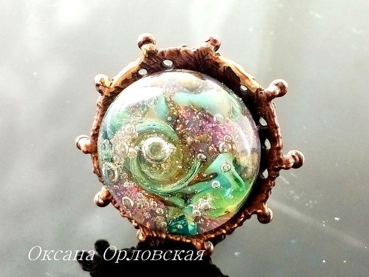 Кольцо Сказки неба by OksanaOrlovskaia on Etsy