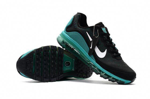 timeless design e0bb8 1f714 Mens Shoes Nike Air Max 2017. 5 KPU Black Green White 898013 004