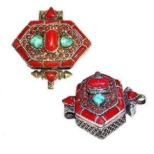 Tibetian coral jewelry