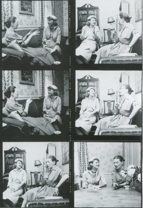 Sylvia Plath interviewing Elizabeth Bowen for Mademoiselle, 26 May 1953.