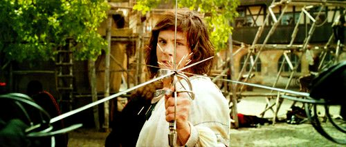 The Three Musketeers 2011 movie, GIF