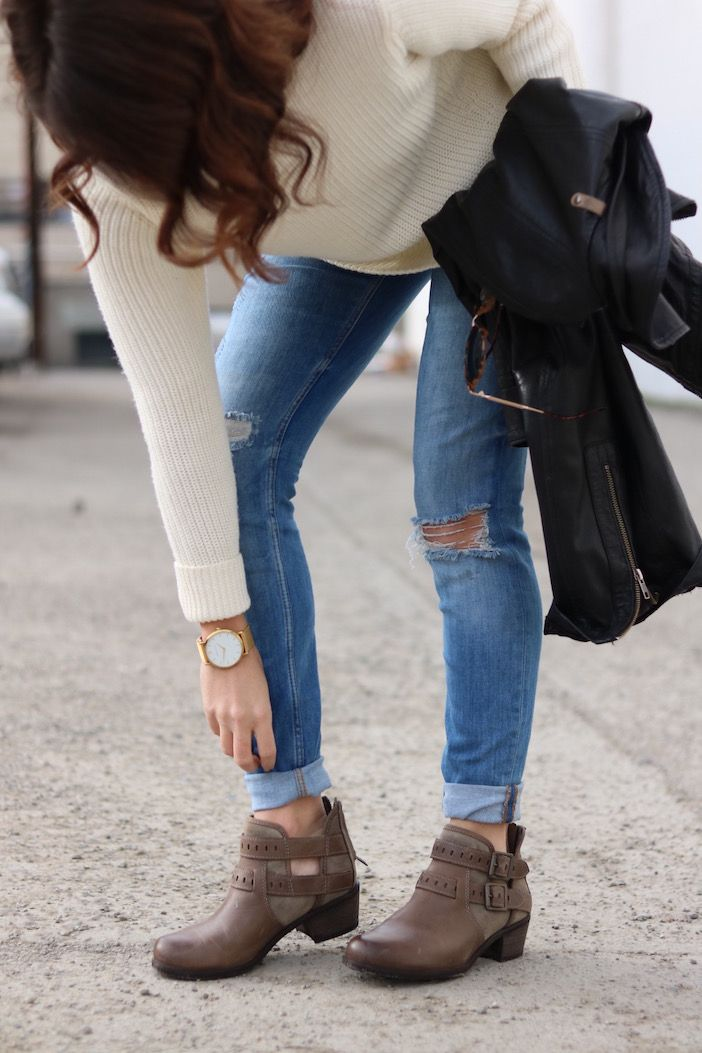 It's almost time to say goodbye to winter boots and hello to spring booties!!!