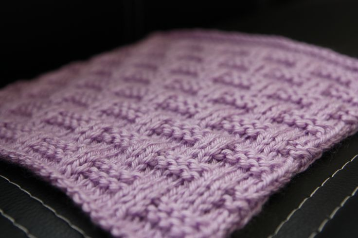 Knook Knitting Patterns : February - Knooking (creating knit fabric using a special crochet hook) 201...