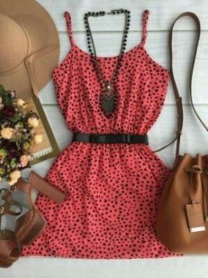 Pretty In Pink Polka dots