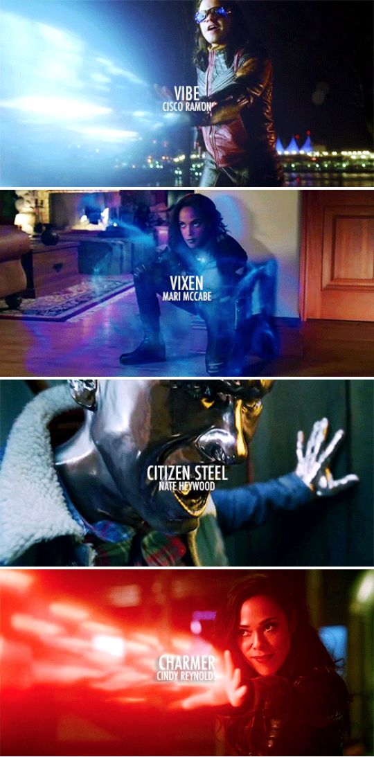 The official and canonical members of Justice League: Detroit>> I thought it was gypsy, and just steel and I like Amaya as vixen better