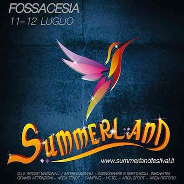 Il Summerland Festival sceglie l'Abruzzo, sarà a Fossacesia