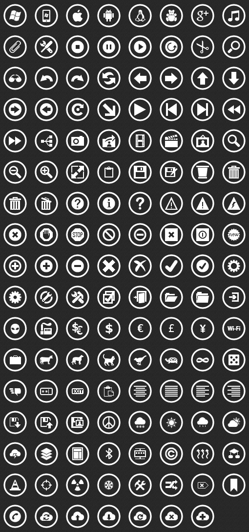 Download Free Metro Icons Pack For Windows