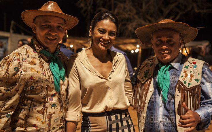 Confira os bastidores das gravações de Amores Roubados no Nordeste  | #AmoresRoubados TV Globo