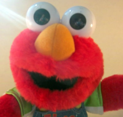 Talking Elmo Fisher Price 1999 Henson Mattel Red Interactive Let's Pretend $27.95