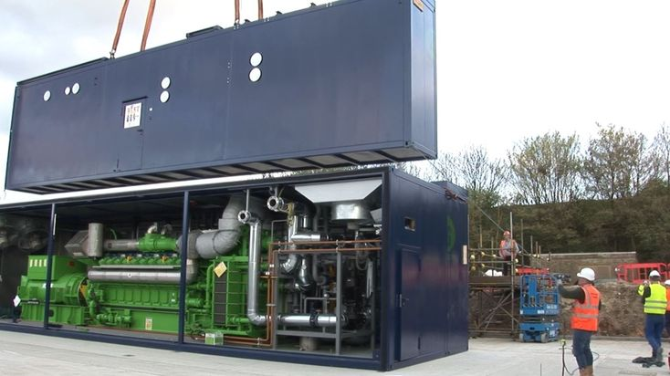 A 5 MW project for a sugar manufacturer in Great Britain.