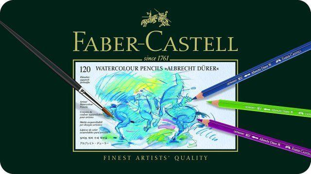 Produktreview: Albrecht Dürer Künstleraquarellstifte von Faber Castell