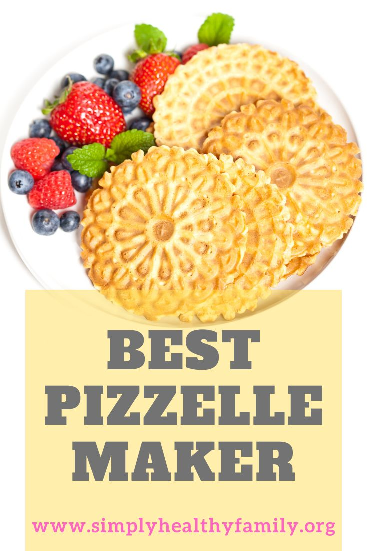 Here's a guide in choosing the best pizzelle maker. Things ...