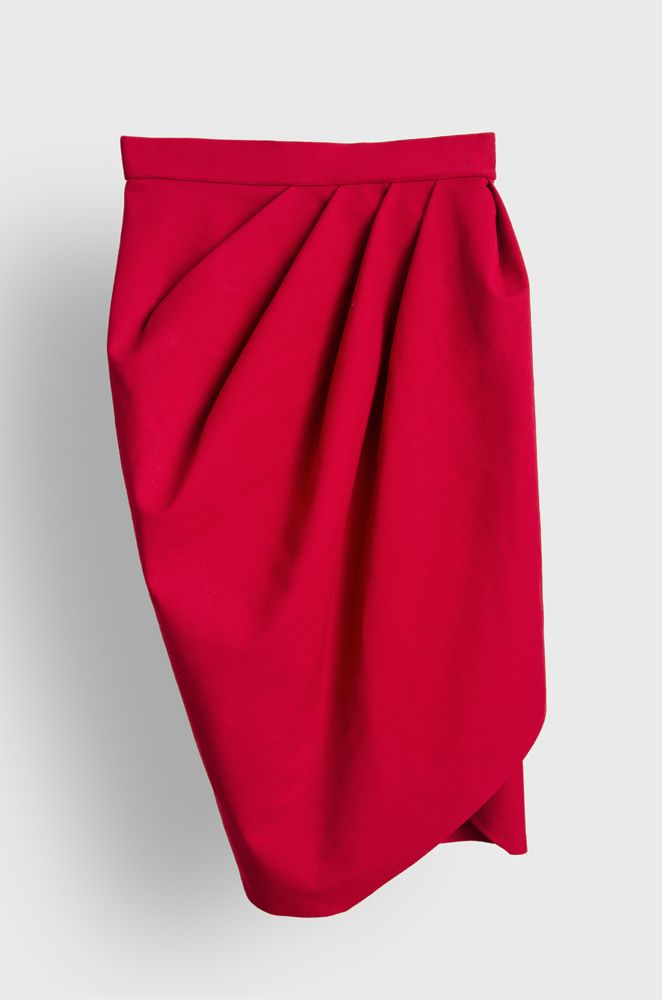 byKee #red #skirt