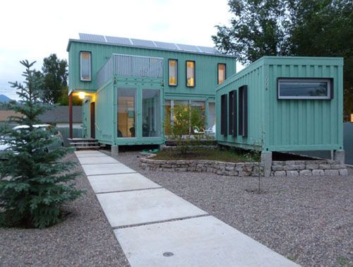 40-Foot Container Homes | ... Design Studio - Flagstaff, Arizona - Six Shipping Container Home