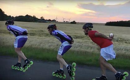 Inline speed skating videos