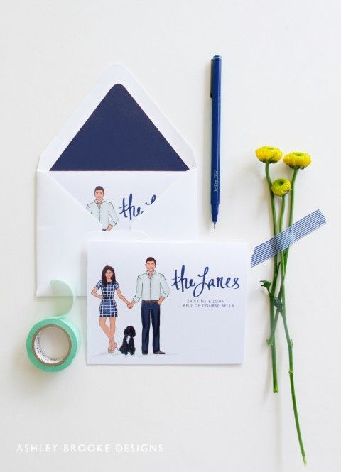 Love this idea of custom thank you cards, think Disney-related etc when customized for you