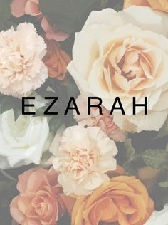 Ezarah. Unisex names, baby names, female or male names. Biblical names, strong first names, middle names. Names that start with E.