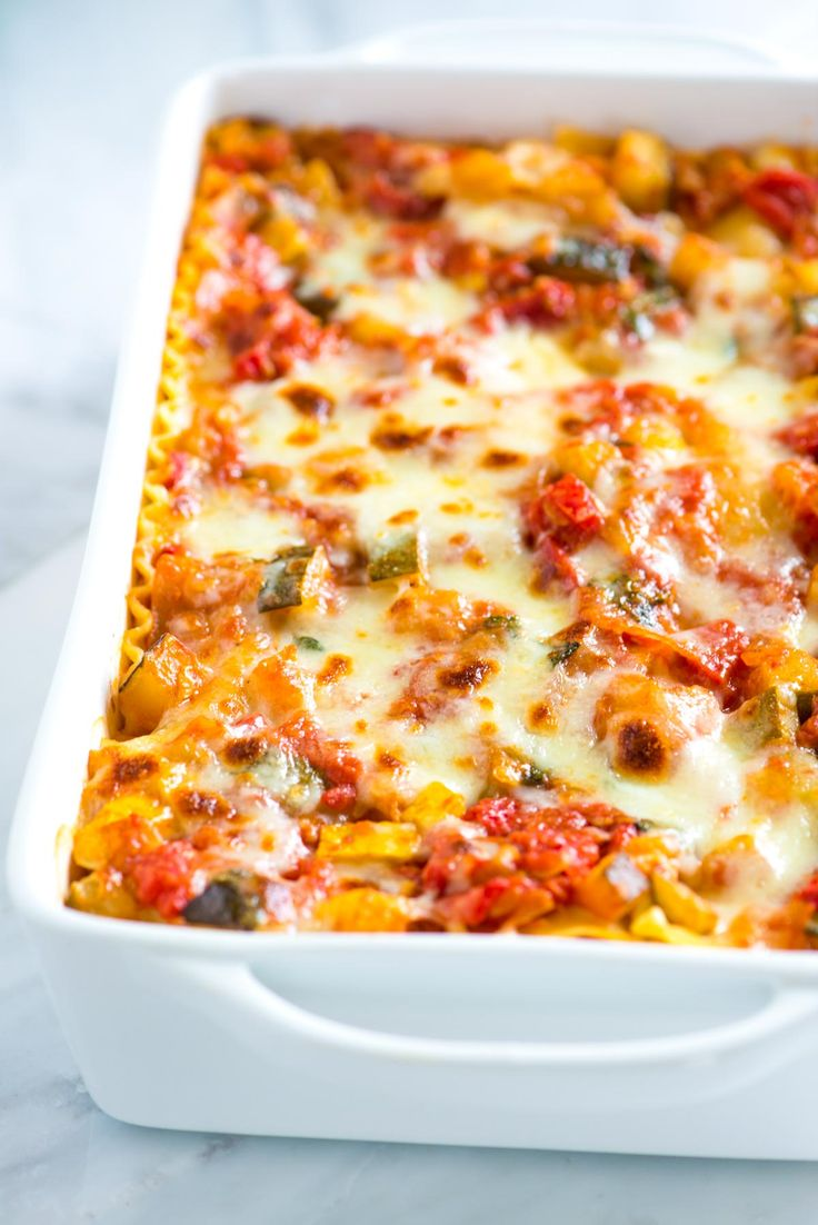 How to Make Our Easy and Adaptable Vegetable Lasagna