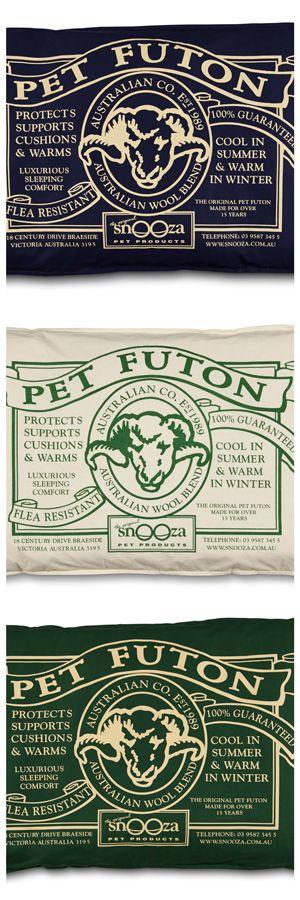Pet Futon - Warm in winter, cool in summer.