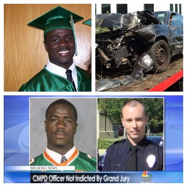 This is #JonathanFerrell. Last summer, he crashed his car in Charlotte. He climbed out of his car and started walking in search of help. Police arrived, surrounded the site of the crash and Ofc. Randall Kerrick shot Jonathan multiple times in the chest, killing him. #endpolicebrutality