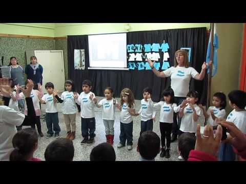 Himno Nacional Argentino en lenguaje de señas - YouTube
