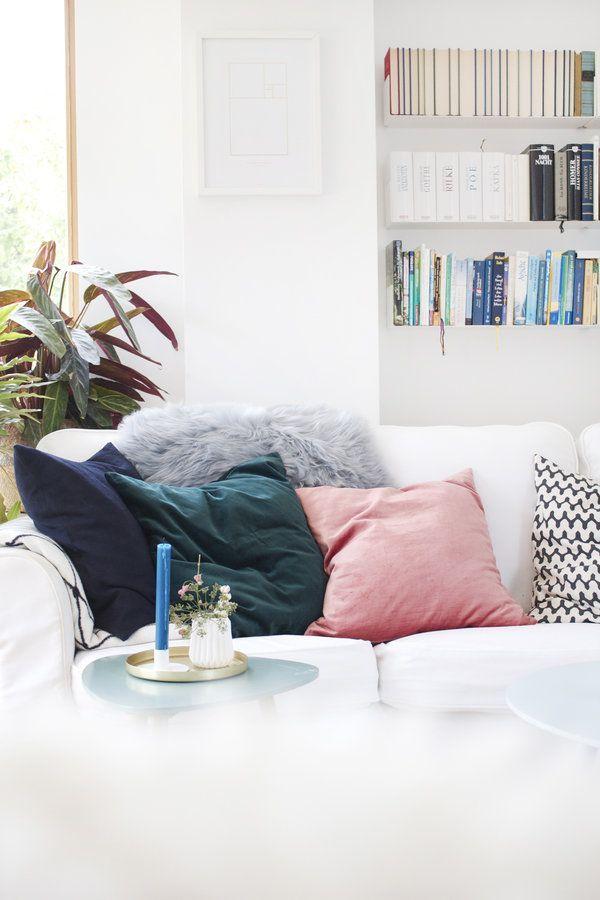 Die Besten 25 Wohnzimmer Kissen Ideen Auf Pinterest