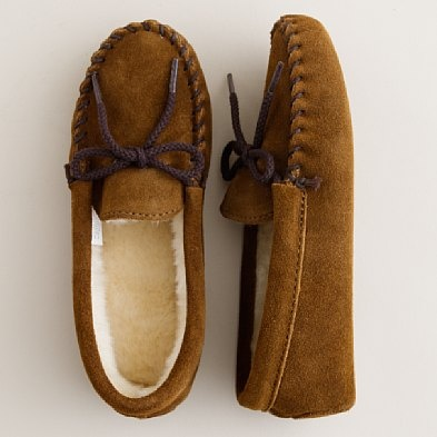 Just like dad's slippers, adore