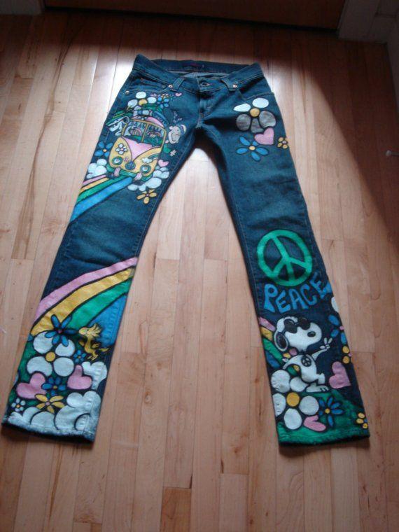 1000 Ideas About Hippie Jeans On Pinterest Gypsy