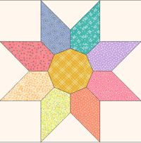 "star variation quilt templates Baycreek Quilting Templates 12"" $18.00"
