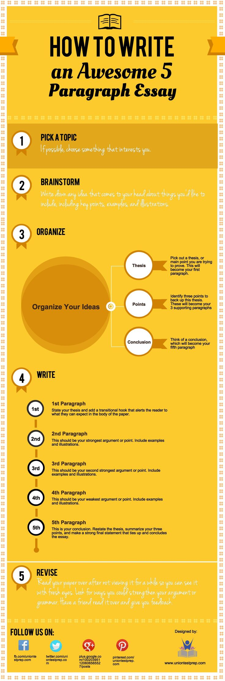 top ideas about essay tips college organization need to write an essay don t know where to start check out this infographic that shows you how in 5 easy steps pick a topic if possible cho