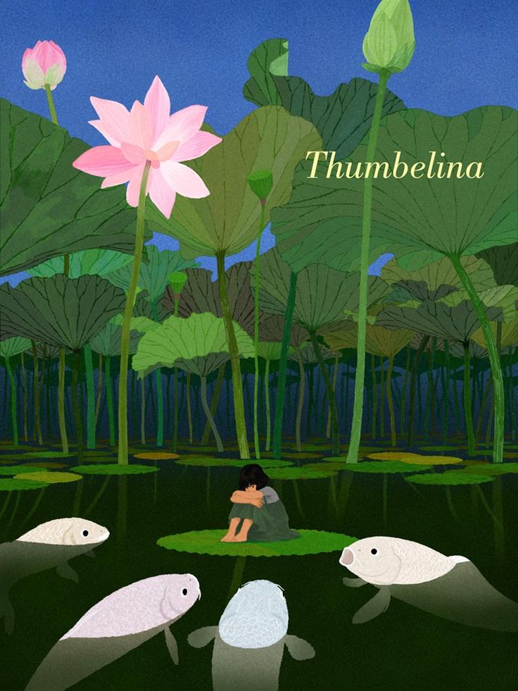 photoshop illust thumbelina