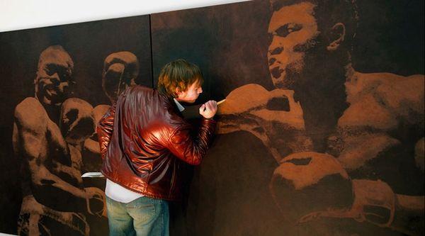 Kunst auf Leder   Mark Evans und sein Messer