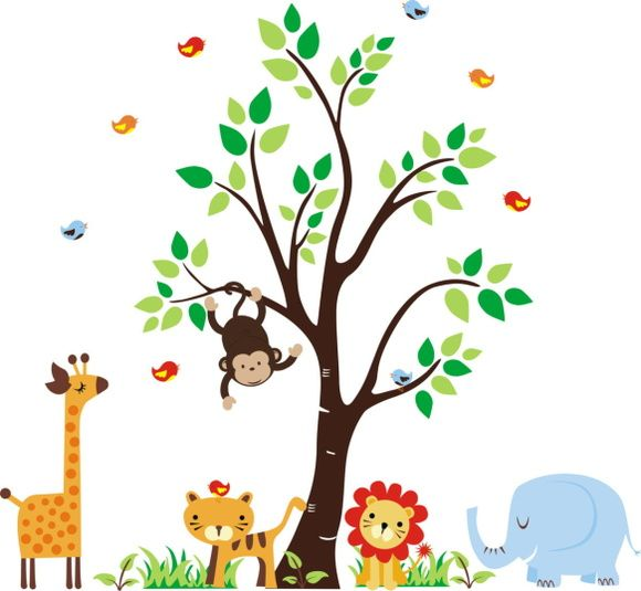 Kit Safari com Árvore - 355CEB                                                                                                                                                                                 Mais