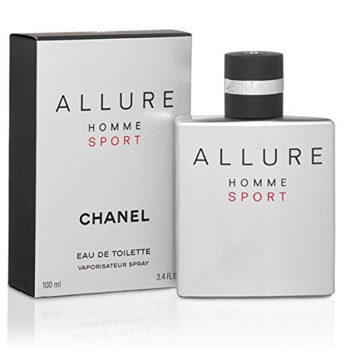 Chanel_Allure Homme Sport Eau De Toilette Spray for Men (3.4 FL OZ / 100 ml) by Allure: Tweet 100% Guaranteed Authentic Brand Name…