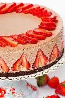 MySweetArianna: Cheesecake Nutella e Fragole