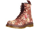 Dr. Martens Taupe Victorian Flowers